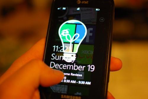 Jak uzyskać przezroczysty Lock Screen na Windows Phone 7?