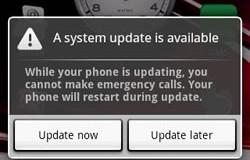 Aktualizowanie Androida