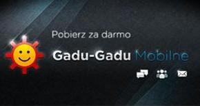 Mobilne Gadu Gadu za darmo, ale…