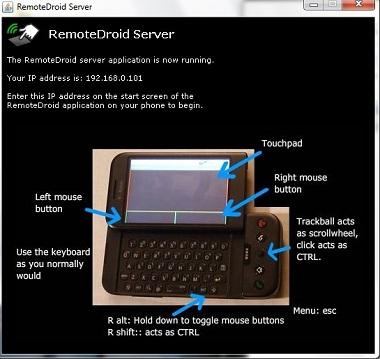 Telefon z Androidem jako bezprzewodowa mysz lub klawiatura