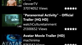 Pobieranie wideo z YouTube'a na Windows Phone 7