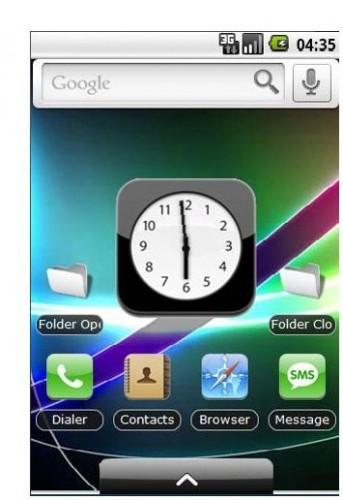 Tematy imitujące wygląd iOS 4 dla Androida