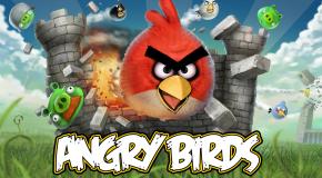 Angry Birds na ekranie komputera