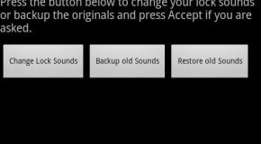 Zmiana dźwięku blokowania i odblokowywania Androida