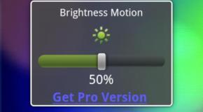 Zarządzanie jasnością ekranu na Androidzie poprzez potrząsanie