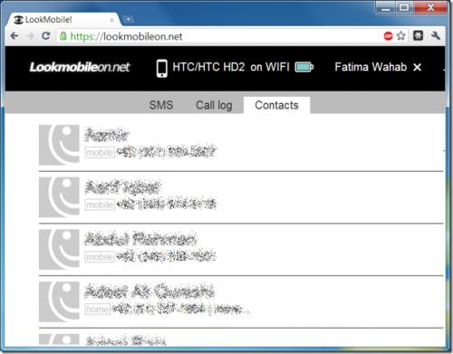 Zdalny dostęp do SMS-ów, kontaktów oraz połączeń Androida