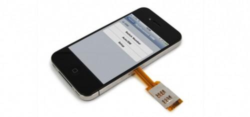 Sposób na dwie karty SIM w iPhonie 4