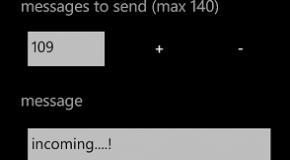 SMS Bomber, czyli jak szybko wysłać dziesiątki SMS-ów z WP7