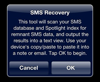 Odzyskiwanie skasowanych SMS-ów na iPhonie