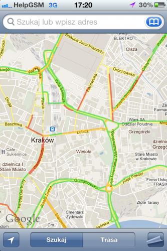 Jak działa usługa Google Live Traffic?
