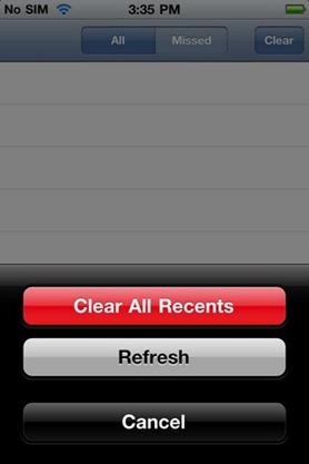 Ukrywanie logów połączeń na iOS