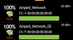 Dokładne analizowanie sieci WiFi na Androidzie
