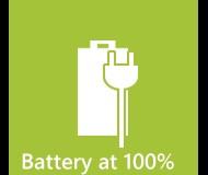 Wyświetlanie stanu baterii na ikonie WP Mango