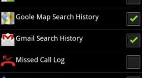 Szybkie usuwanie danych przeglądarki na Androidzie