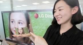 5-calowy ekran od LG o rozdzielczości 1920 x 1080 pikseli i gęstości 440 ppi