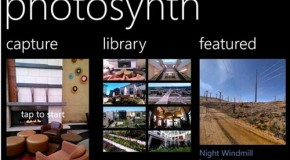 Photosynth także dla Windows Phone'a