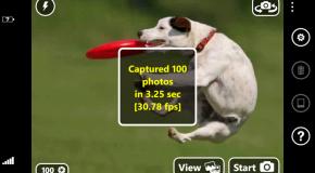 Turbo Camera – 30 zdjęć na sekundę