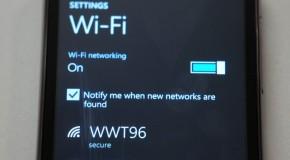 Podtrzymywanie połączenia Wi-Fi na Windows Phone