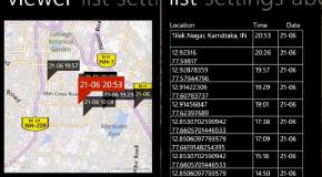 TrackUrSelf – rejestrowanie lokalizacji Windows Phone'a co 30 minut