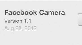 Nowa wersja aplikacji Facebook Camera umożliwia udostępnianie całych albumów