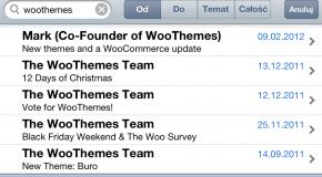 Wyświetlanie więcej niż 5 maili na jednym ekranie iOS-a