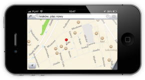 Włączenie zablokowanych funkcji map na iOS 6