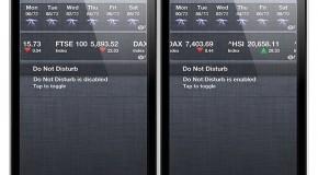 DoNotDisturb 2 – Do not Disturb w centrum powiadomień