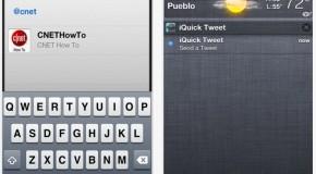 iQuick Tweet – tweetowanie z centrum powiadomień iOS-a bez jailbreaku