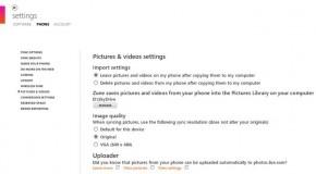 Synchronizacja zdjęć Windows Phone'a ze SkyDrive w pełnej rozdzielczości