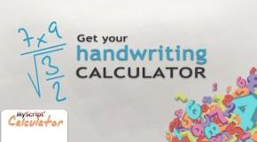 MyScript Calculator – kalkulator rozpoznający pismo ręczne