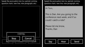 Say Mail! – głosowe pisanie maili na Windows Phonie