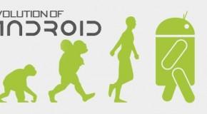 Jak zmieniał się Android – infografika