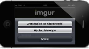 Udostępnianie zdjęć bezpośrednio w przeglądarce iOS-a 6