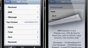 SMS Stats – a ty ile SMS-ów masz w iPhonie?