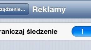 Ograniczanie śledzenia w iOS 6
