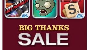 Wielkie obniżki cen gier od EA i Gameloftu w App Store