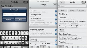 Zarządzanie listami odtwarzania na iOS-ie