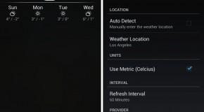 Notification Weather – minimalistyczny widżet pogodowy dla Androida